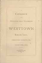 Thumbnail image of Westtown Boarding School 1882-3 Catalogue cover