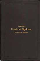 Thumbnail image of Minnesota Register of Physicians, 1883-1890 cover