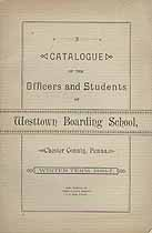 Thumbnail image of Westtown Boarding School 1886-7 Catalogue cover