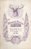 Thumbnail image of Lebanon Lodge, No. 631, B.P.O.E. 1949 Memorial cover