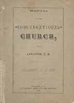 Thumbnail image of Lancaster Congregational Church 1882 Manual cover