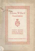 Thumbnail image of Emma Willard Association 1912 Report cover