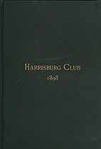 Thumbnail image of Harrisburg Club 1898 Membership cover