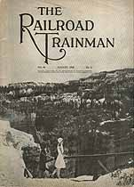 Thumbnail image of Railroad Trainman 1929 August cover