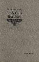 Thumbnail image of Sandy Creek High School 1919-1920 Catalogue cover