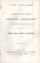 Thumbnail image of Boston YMCA 1855 Report cover