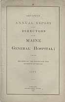 Thumbnail image of Maine General Hospital 1877 Report cover