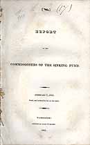 Thumbnail image of Sinking Fund 1821 Report cover