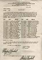 Thumbnail image of U. S. Army 1952 Induction Listing cover