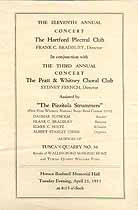 Thumbnail image of Hartford Plectral Club 1931 Program cover