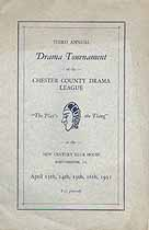 Thumbnail image of Chester County Drama League 1931 Program cover
