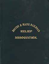 Thumbnail image of Boston & Maine Railroad Relief Association 1900 Hand Book cover