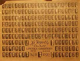 Thumbnail image of Lincoln Consistory A. A. S. R. 1920 Composite Photo cover
