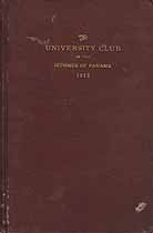 Thumbnail image of Panama University Club 1913 cover