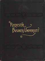 Thumbnail image of Rochester Business University 1896-7 Catalogue cover