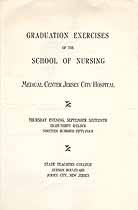 Thumbnail image of Jersey City School of Nursing 1954 Graduation Exercises cover
