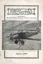 Thumbnail image of Korelock Klippings 1929, August cover