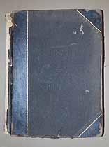 Thumbnail image of O. W. Almer Funeral Director Ledger (1909-1918) cover