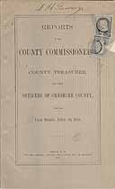Thumbnail image of Cheshire County Commissioners 1888 Report cover
