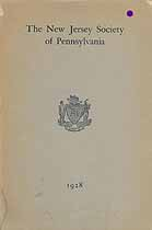 Thumbnail image of New Jersey Society of Pennsylvania 1928 Year Book cover