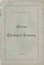 Thumbnail image of Chicago Theological Seminary 1883-4 Catalogue cover