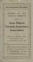 Thumbnail image of Iowa Mutual Tornado Insurance Association 1906 Report cover