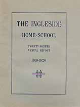 Thumbnail image of Ingleside Home-School 1919-1920 Report cover