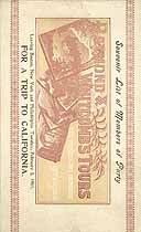 Thumbnail image of Raymond and Whitcomb's 1901 Tour to California cover