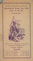 Thumbnail image of Manitobah Tribe, No. 125, I.O.R.M. 1915 Report cover