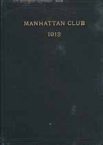 Thumbnail image of Manhattan Club 1913 List of Members cover