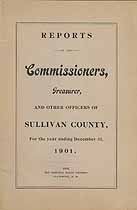 Thumbnail image of Sullivan County Commissioners 1901 Report cover