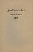 Thumbnail image of Mankato Normal School 1912 Catalogue cover