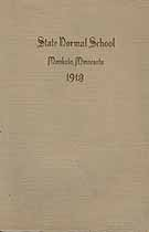 Thumbnail image of Mankato Normal School 1913 Catalogue cover