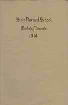 Thumbnail image of Mankato Normal School 1914 Catalogue cover