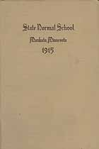 Thumbnail image of Mankato Normal School 1915 Catalogue cover