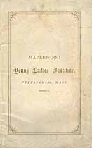 Thumbnail image of Maplewood Young Ladies' Institute 1866-1867 Catalogue cover