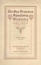 Thumbnail image of San Francisco Symphony Orchestra 1913 Concert Program cover