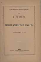 Thumbnail image of American Congregational Association 1891 Report cover