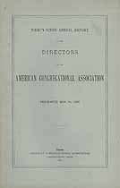Thumbnail image of American Congregational Association 1892 Report cover