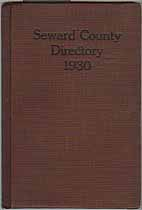 Thumbnail image of Seward County Directory 1930 cover