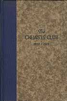 Thumbnail image of The Chemists' Club 1922-1923 Year Book cover