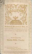 Thumbnail image of Root Center School District No. 8 Souvenir 1900-1901 cover