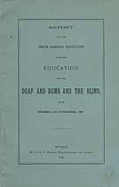Thumbnail image of North Carolina Deaf, Dumb and Blind Institution 1896 Report cover