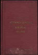Thumbnail image of Arkansas Attorney General 1914-1916 Report cover