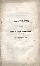 Thumbnail image of New Haven Gymnasium 1828 Catalogue cover