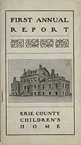 Thumbnail image of Erie County Children's Home 1902 Report cover