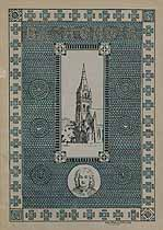 Thumbnail image of Bethlehem Bach Choir 1921 Programme cover