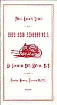 Thumbnail image of Hope Hose Company 1871 Membership cover