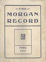 Thumbnail image of The Morgan Record, 1911, April cover