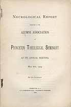 Thumbnail image of Princeton Theological Seminary 1902 Necrology cover